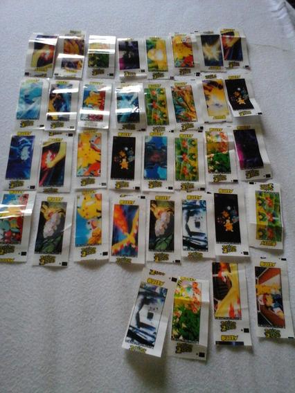 Lote Com 36 Figurinhas Pokemon 2000 Autocolantes (buzzy)