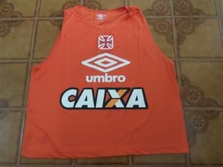 Camisa Vasco Colete Treino Laranja Tamanho M