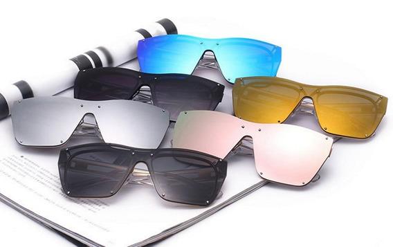 Óculos De Sol Espelho Feminino Quente