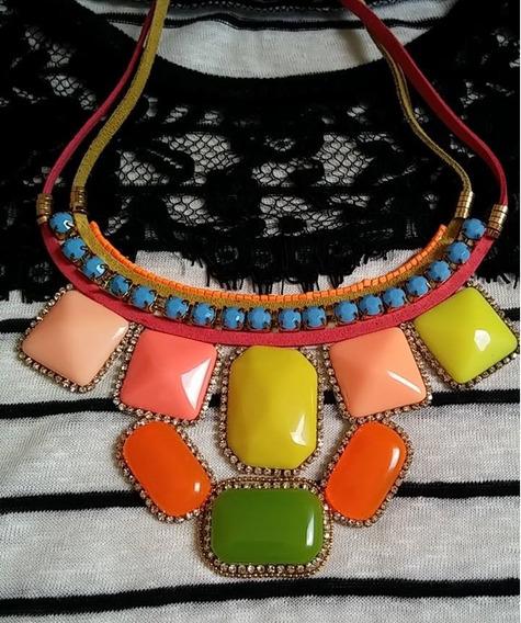 Maxi Colar Colors