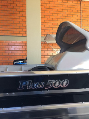 Casco Lancha Alumínio 4,9m 5m Fortboat Plus 500 Nova