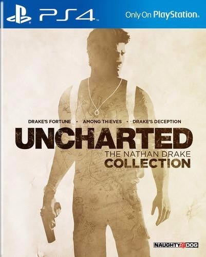 Jogo Mídia Física Uncharted The Nathan Drake Collection Ps4