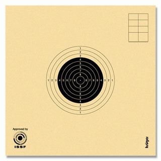100 Dianas Kruger Oficiales Para Rifle Olimpico 10 Metros