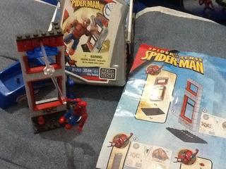 Megabloks Spiderman En Caja Plástica Como Nuevo!