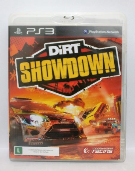 Dirt Showdown Jogo Ps3 Usado Mídia Fisica