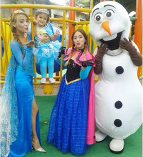 Show Frozen Y Olaf Muñecotes Toystory Woody Buzz Peppa Pig