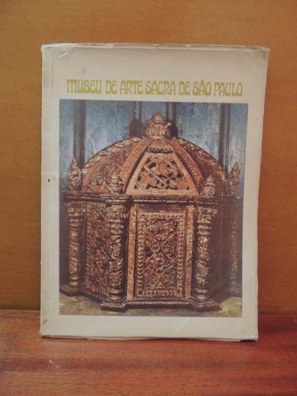 Livro Guia Museu Arte Sacra São Paulo 1970