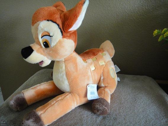 Disney Bambi Pelucia Original Novo Importado Plush Bordado