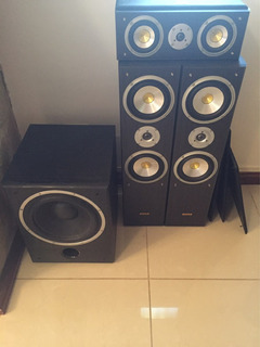 Equipo Audio 5.1 Pto X Piano