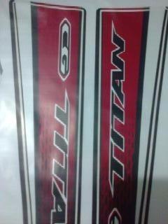 Adesivo Moto Titan 160 Ex 2016 Vermelha Jogo Completo