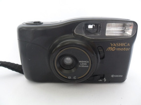 Câmera Máquina Fotográfica Antiga Yashica Mg Motor Kyocera