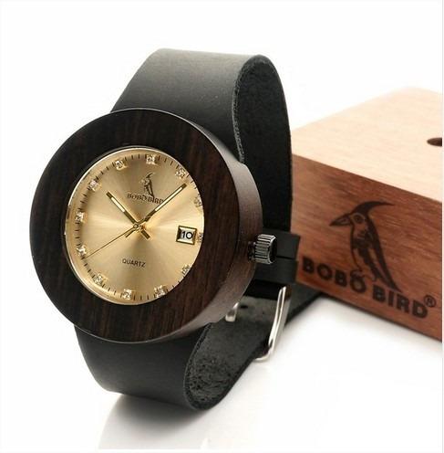 Relógio Feminino Bambu Anal. Bobo Bird C03