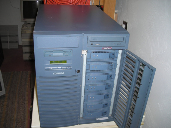 Alpha Server Ds20 Model Dj-55nja-da Alphaserver Tru64 Unix