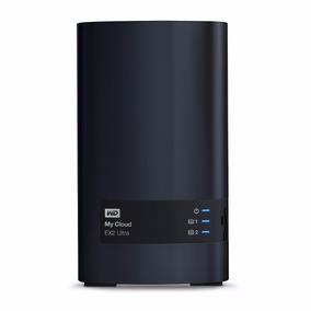 Servidor Nas Wd My Cloud Ex2 Ultra 16tb - 2x Wd Red 8tb