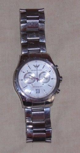 Reloj Emporio Armani Metal Caballero 100% Original