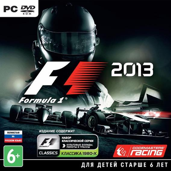 F1-formula 1 2013 Pc Envio No Mesmo Dia Original!