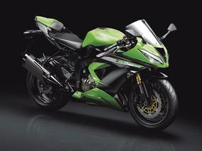 Motocicleta Kawasaki Zx6 R Edición Limitada Verde 2017 0km