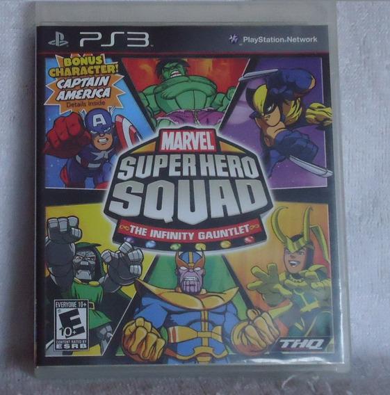 Marvel Super Hero Squad Ps3 ** Leia