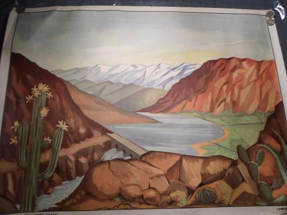 Poster Antiguo Caja Nacional De Ahorro Postal Nº 14