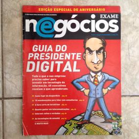 Revista Exame Negócios 9 Ed. 12 Guia Do Presidente Digital