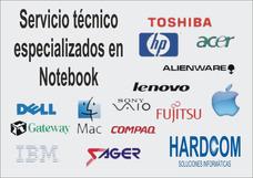 Reparación De Notebook Tv Celulares... Presupuesto Sin Costo