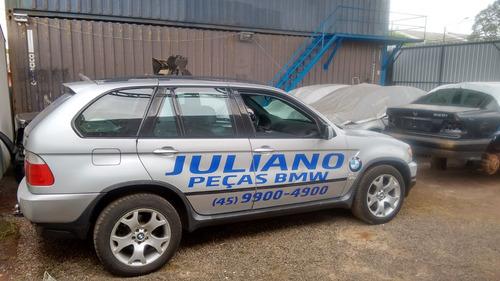 Sucata Bmw X5 2002/2003 Prata V8 4.4