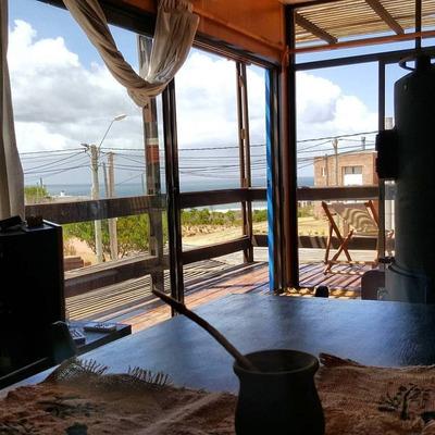 Depto En Punta Del Diablo Decks Con Vista Al Mar