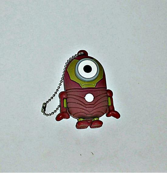 Pen Drive 8gb Minions Fantasiado De Iron Man, Oferta