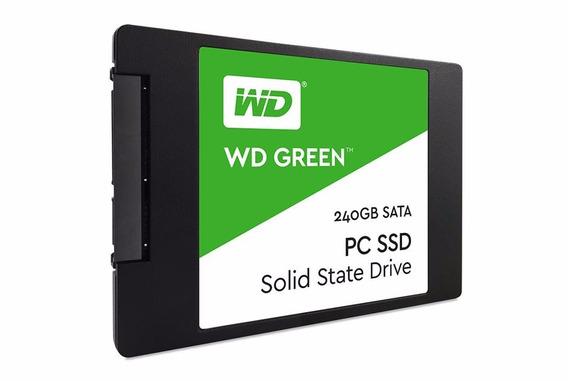 Ssd Wd Green 240gb 2,5 7mm Sata 3