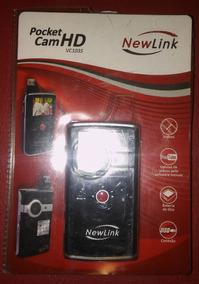 Filmadora Pocket Cam Hd Vc 103 New Link + Cabo Hdmi