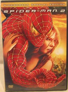 Spiderman 2 Special Ed - 2 Dvd Import Z1 Hombre Araña Marvel