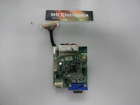 Placa Sinal 715g3529-1 + Cabo Lvds - Monitor Aoc 1619s