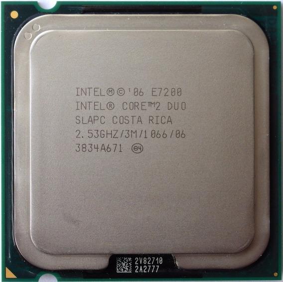 Processador Intel Core 2 Duo E7200 2.53ghz 3m Cache Fsb 1066