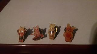 Pins Conejo Duracell . Lote X 4 Unidades De Coleccion