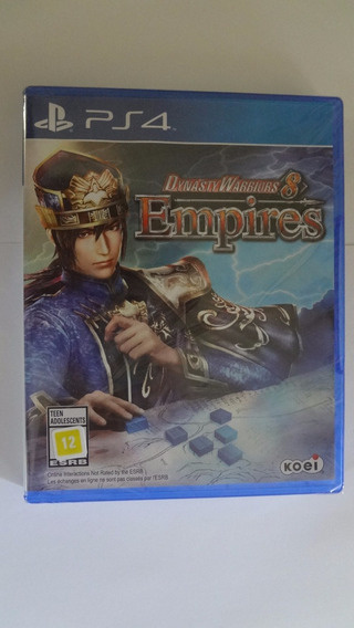 Dynasty Warriors 8 Empires Ps4 Novo E Lacrado