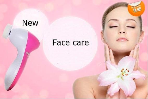 Aparelho De Limpeza Facial E Massagem Multifunções 5 Em 1
