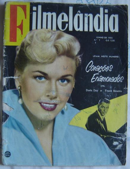 Revista Filmelândia- Nº7 - Junho De 1955-corações Enamorados