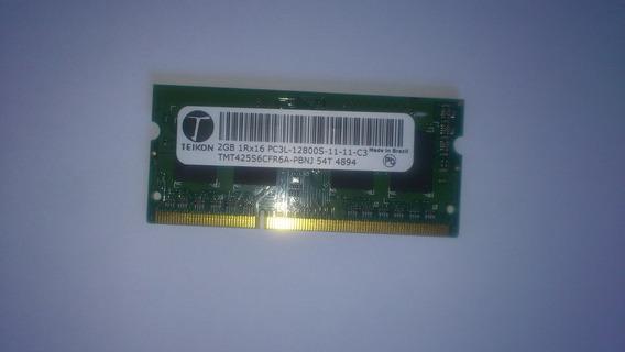 Memoria 2 Gb Pc3l 12800s Teikon Notebook Positivo Xri3005