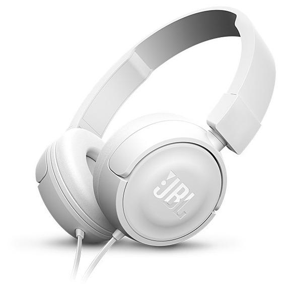 Fone De Ouvido Jbl T450 Branco On Ear Original Caixa Lacrada