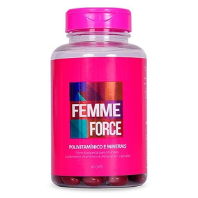 Complexo Vitamínico Para Mulher Femme Force (2 Meses)