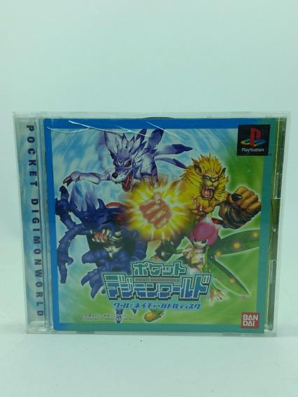 Digimon Pocket Digimonworld - Ps1 - Ver Jp