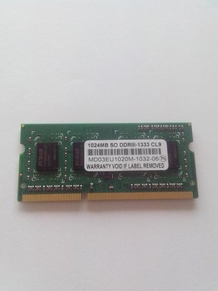 Memoria 1024mb 1gb Ddr3 Notebook-netbook