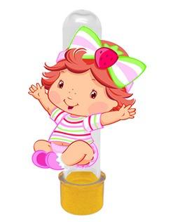 30 Tubetes 3d 30 Caixinha Moranguinho Baby
