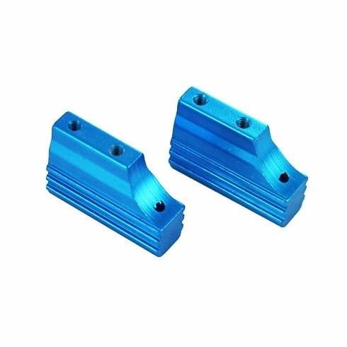 Imagem 1 de 2 de Hsp 122005 Mount Do Motor De Aluminio Azul Carro 1/10