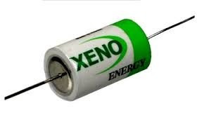Bateria 3,6v 1/2aa 14250 Xeno 5 Peças Lithium Terminal Axial
