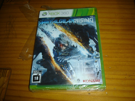 Metal Gear Rising Novo Xbox 360 Midia Fisica Original