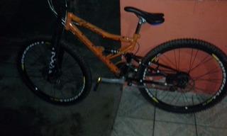 Bicicleta Estilo De Trilha