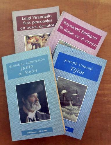 #1. Lote De 4 Libros Biblioteca 100x100