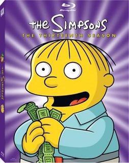 Los Simpsons - Temporada 13 Dvd - O
