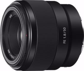 Lente Sony Fe 50mm F/1.8 Prime P Sony Alpha E-mount Cam